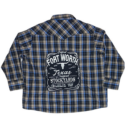 Dallas Fort Worth Texas Wrangler Flannel