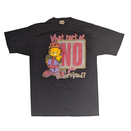 Garfield What Part of No Don't You Understand Tee