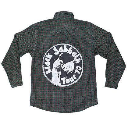 Black Sabbath Tour '73 Flannel