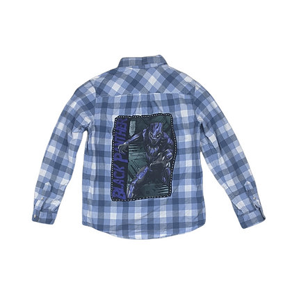 Black Panther Kids Flannel