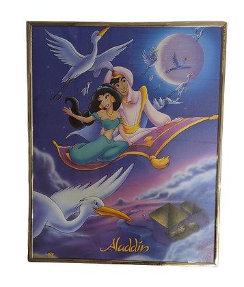 Disney's Aladdin Framed Poster