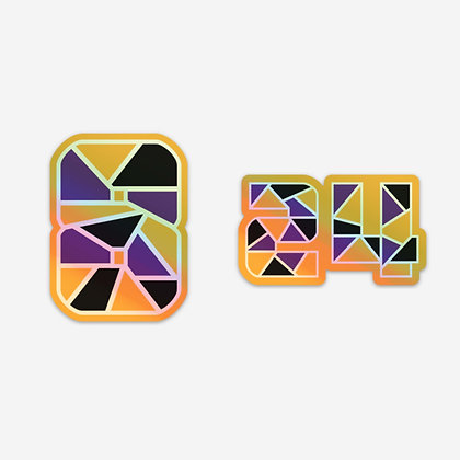 Kobe Bryant Holographic Sticker Pack
