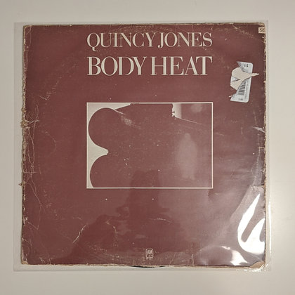 Quincy Jones Body Heat Rare Cover Korea