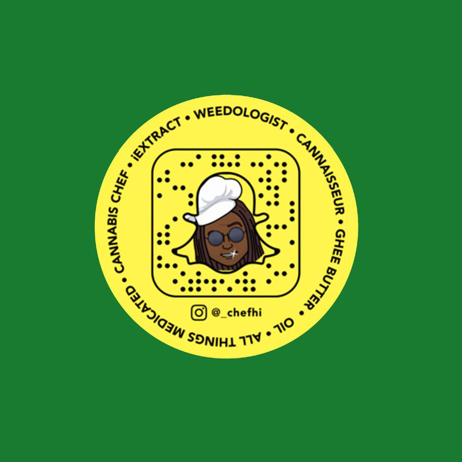 Chef Hi Snapchat Sticker