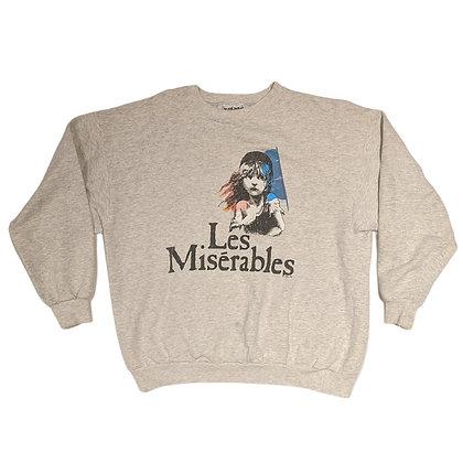 1986 Les Misérables Crewneck