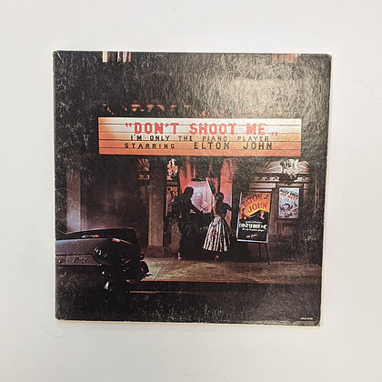 Elton John Don't Shoot Me I'm Only The Piano Player Vinyl