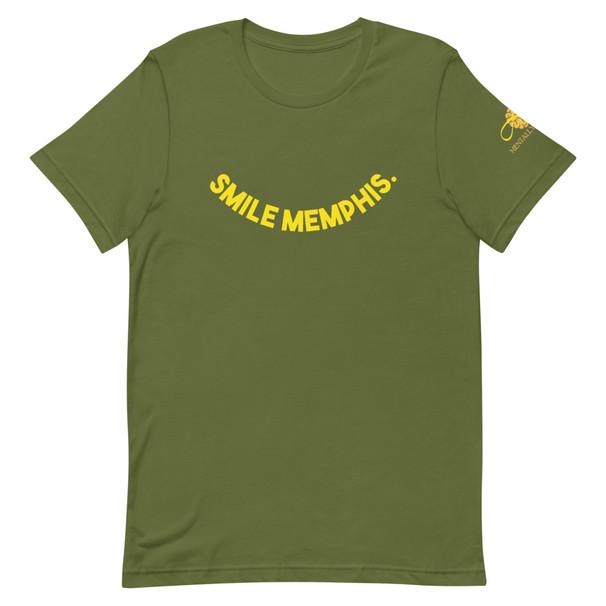 Smile Memphis Olive Starter Tee