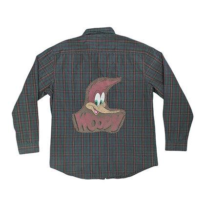 Woody Woodpecker Flannel