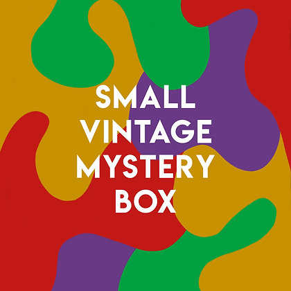 Small Vintage Mystery Box