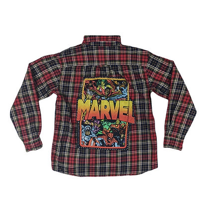Marvel Squad Flannel
