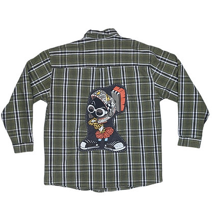 Marvin The Martian Hypebeast Flannel