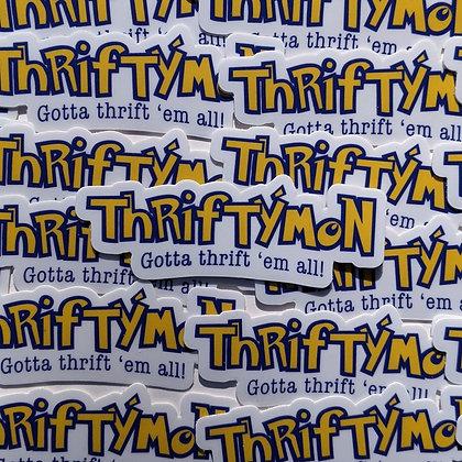 Thriftymon Sticker