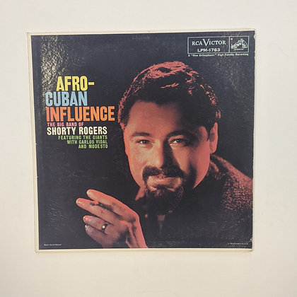 Afro-Cuban Influence The Big Band of Shorty Rogers Vinyl