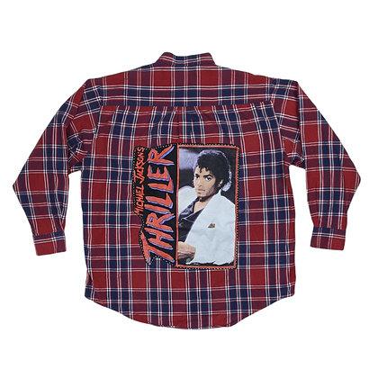 Michael Jackson Thriller Flannel