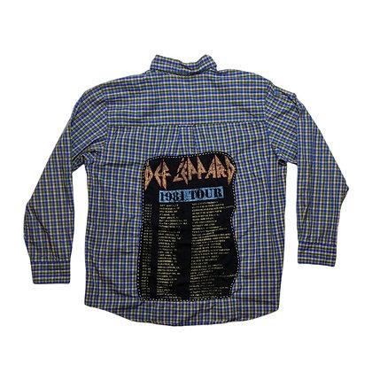 Def Leppard 1981 Tour Flannel