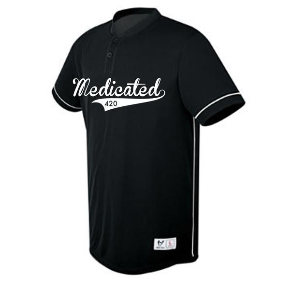 Legally Medicated Baseball Jersey
