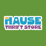 The Hause Thrift Store Logo.(green backg