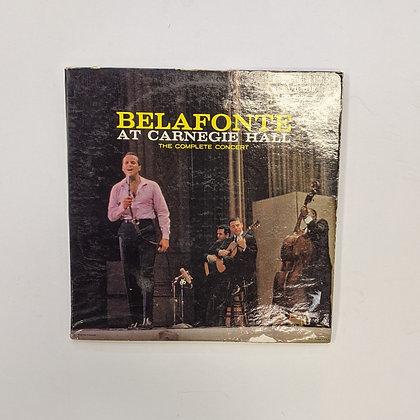 Belafonte At Carnegie Hall Complete Concert Vinyl