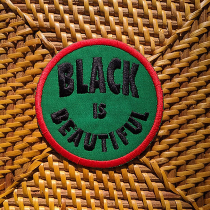 Black Is Beautiful Iron On Patch