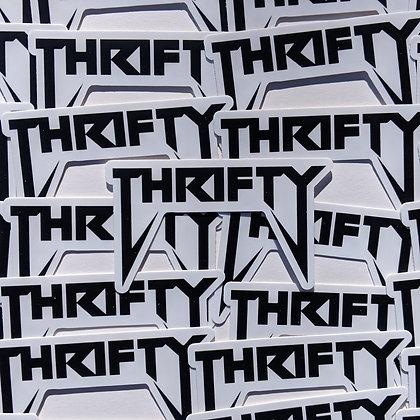 Thrifty Yeezus Sticker