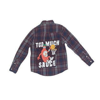 Too Much Sauce Kids Flannel