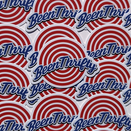 Been Thrifty Squad Sticker