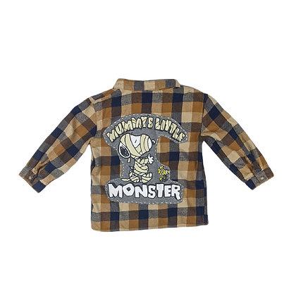 Mommy's Little Monster Flannel