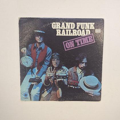 Grand Funk Railroad On Time Vinyl