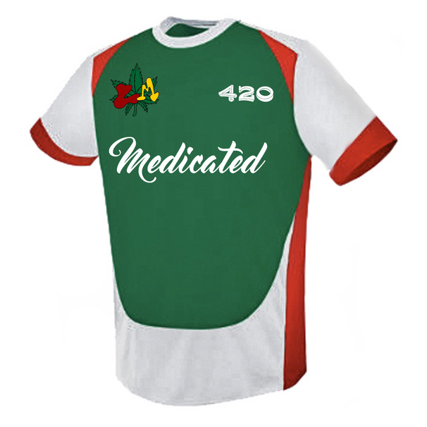 Legally Medicated Soccer Jersey