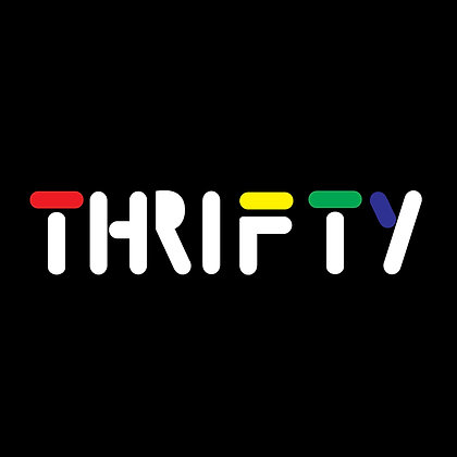 Thrifty Filas Transparent Sticker
