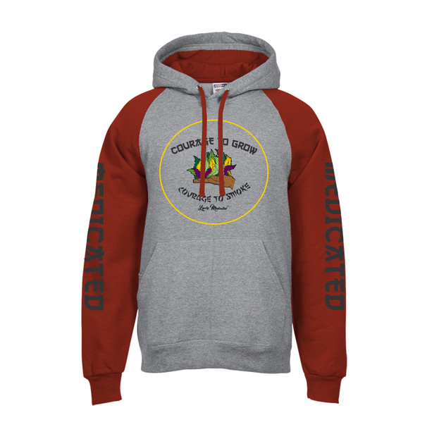 Courage to Grow Hoodie