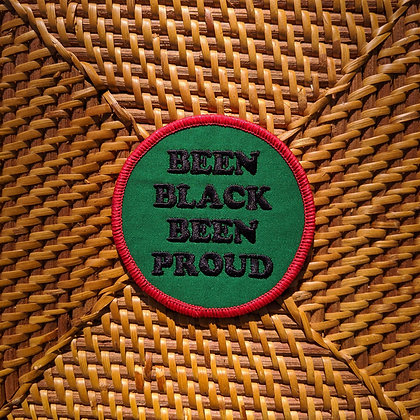 Been Black Been Proud Iron On Patch