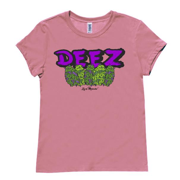 Women's Deez Nugs Heather Pink Tee