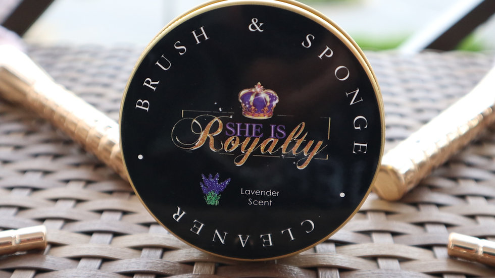 The She Is Royalty Brush and Sponge Cleaner