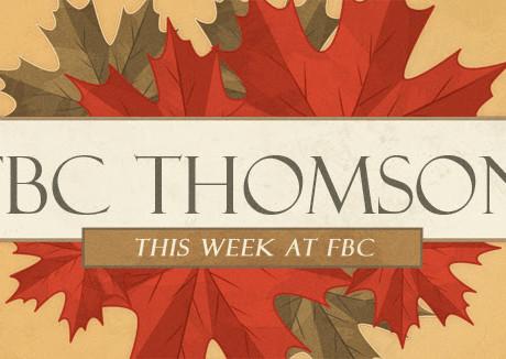November 5 - Happening This Week