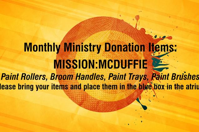 May Donations