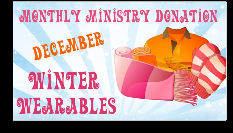 December Donations