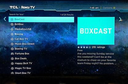 Boxcast App