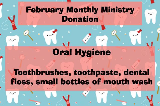 February Donations