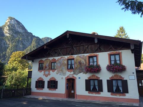Das Mussldomahaus in Oberammergau