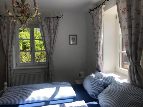 Schlafzimmer Himmelblau