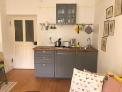 Küche Sonnengelb