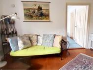 Sofa in Himmelblau