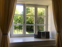 Fenster Sonnengelb