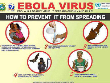 EBOLA SENCITIZATION PROGRAM.