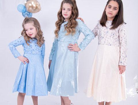 שמלת קריסטל חגיגית