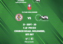 Fixture Changes for Boldmere & Stafford Town
