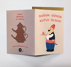 Turkish Birthday Card