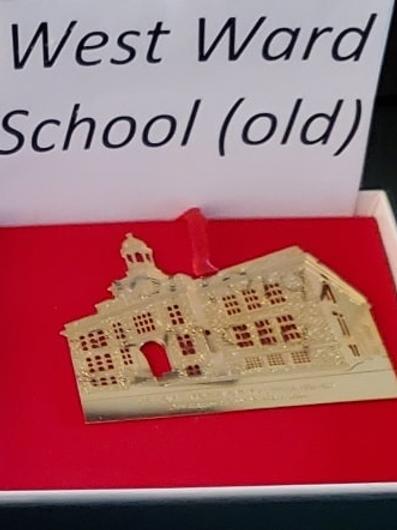 West Ward School Holiday Ornament