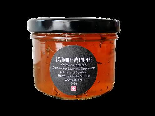 Lavendel-Weingelee